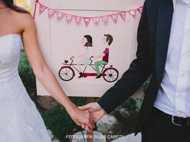 …una boda sobre ruedas!