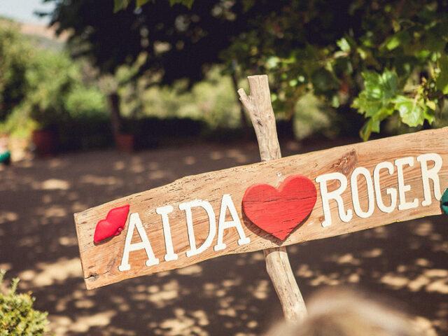 Aida + Roger = LOVE